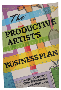 The Productive Artist's Business Plan, now available on Amazon Kindle and paperback